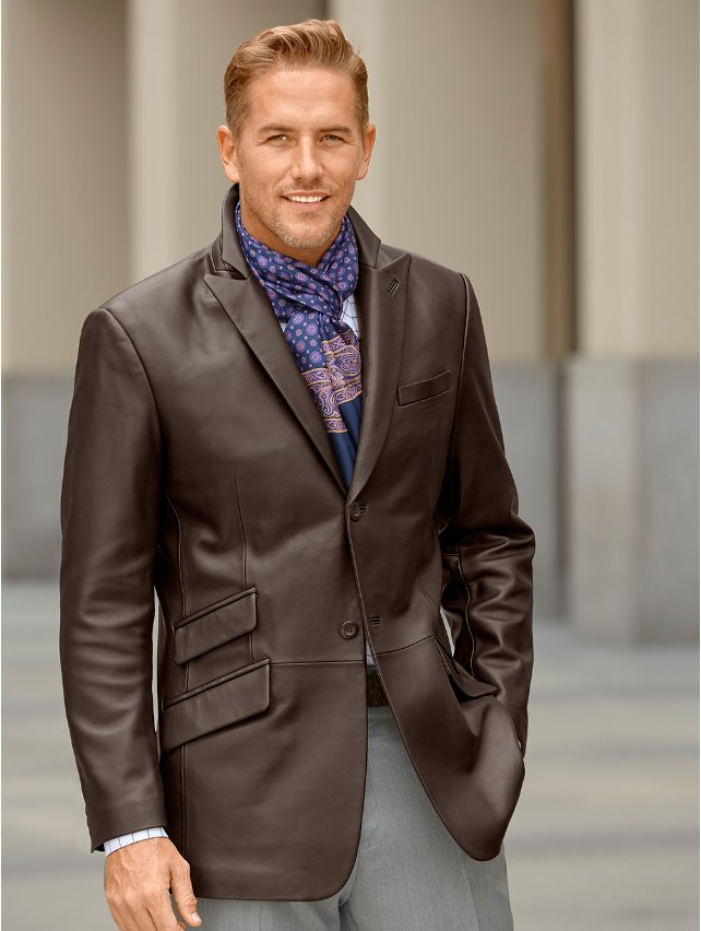 New Zealand Lambskin Leather Jacket