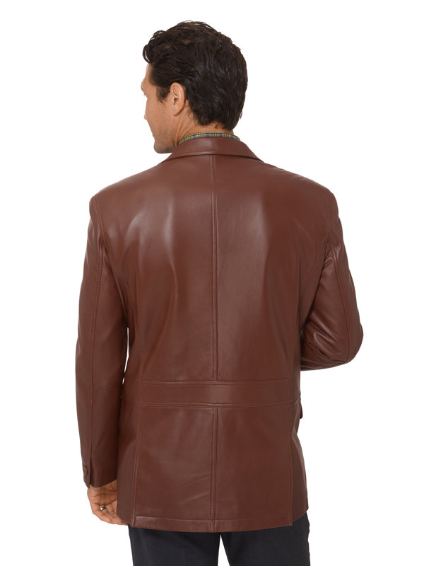 New Zealand Lambskin Leather Jacket