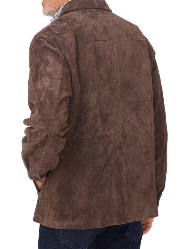 Natural Suede Jacket