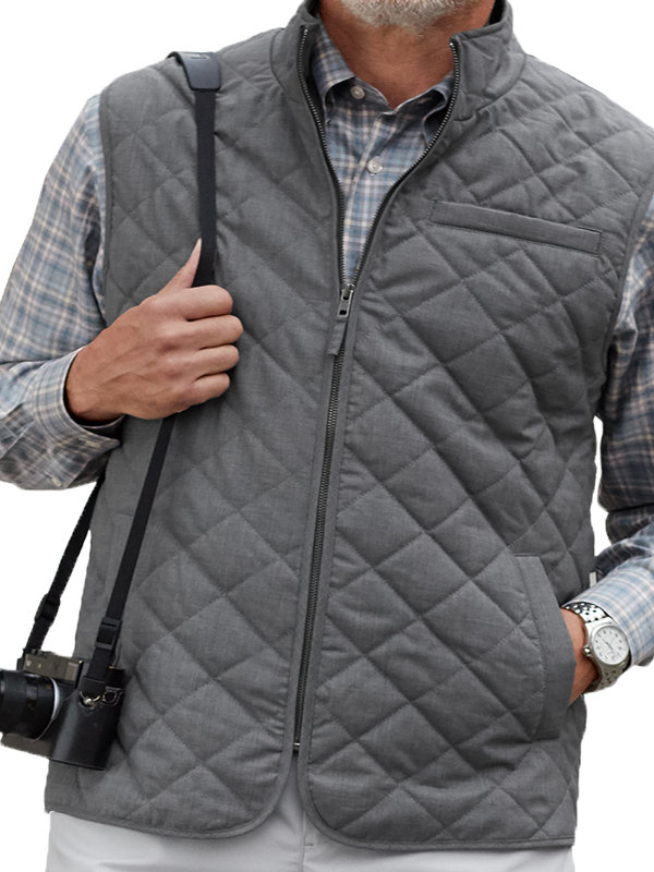 Wool Quilted Vest