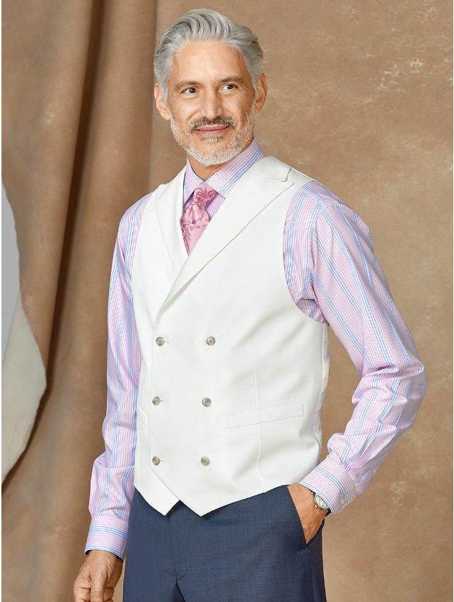 Cotton & Linen Twill Vest