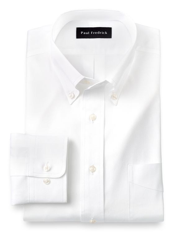 9c7ce5645bf Alert. Close. Continue Shopping. Pure Cotton Pinpoint Solid Color Button  Down Collar Dress Shirt