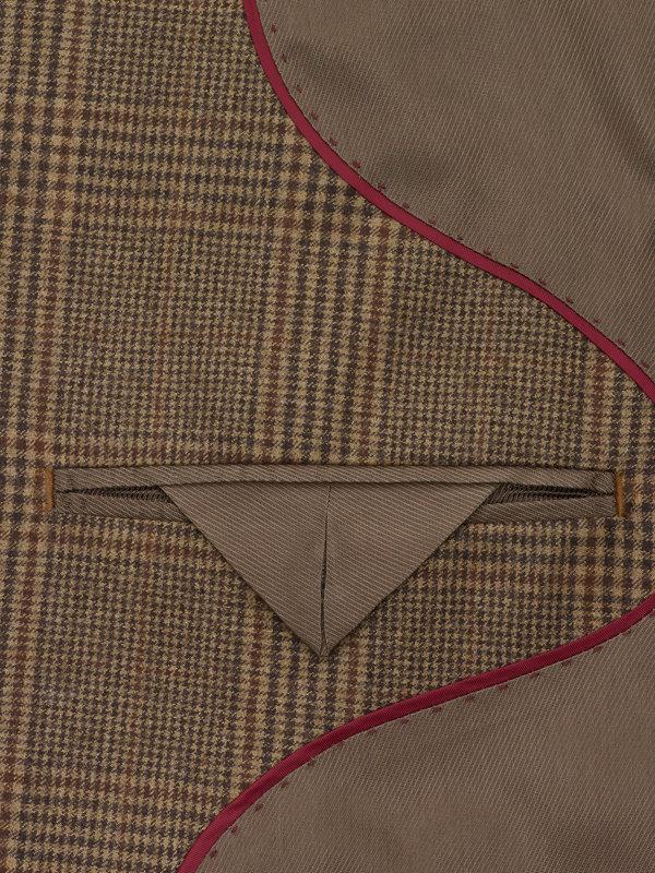 Classic Fit Glen Plaid Notch Lapel Suit