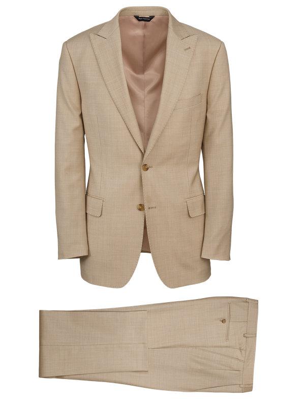 Sharkskin Peak Lapel Suit