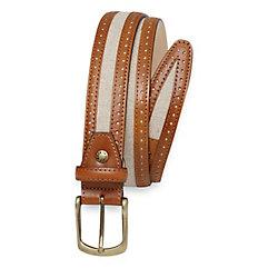 Floyd Canvas & Leather Belt