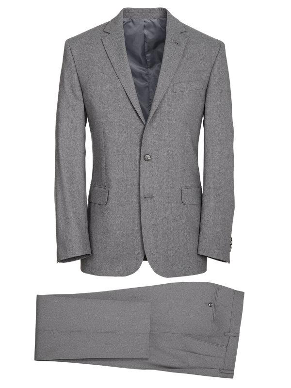 Classic Fit Essential Wool Notch Lapel Suit