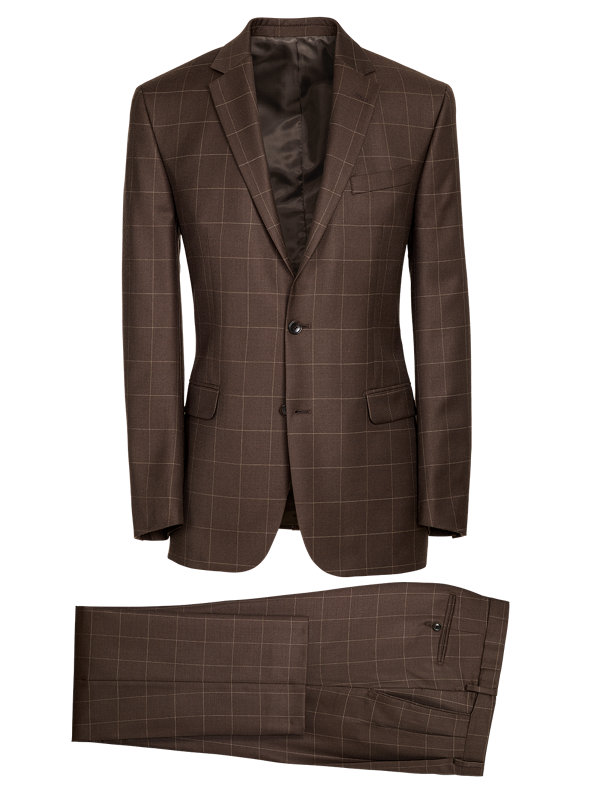 Classic Fit Essential Wool Notch Lapel Suit