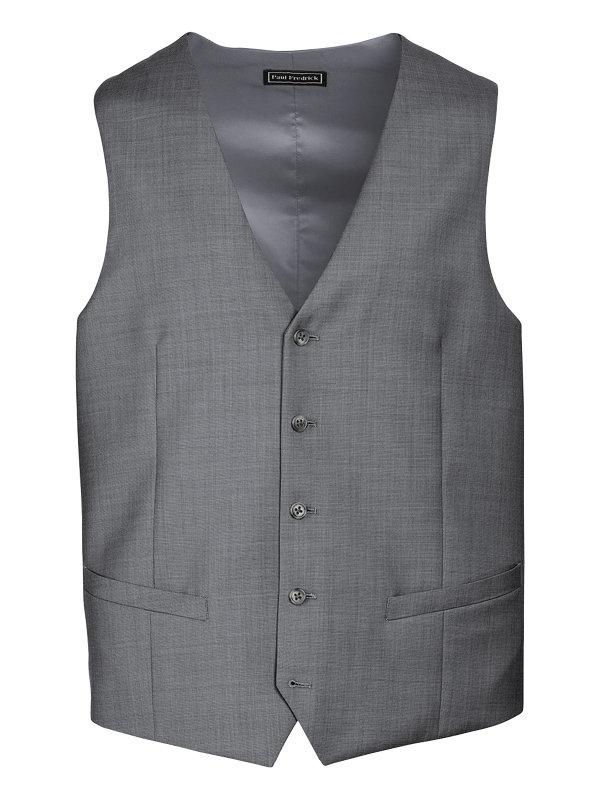 Classic Fit Sharkskin Notch Lapel Suit
