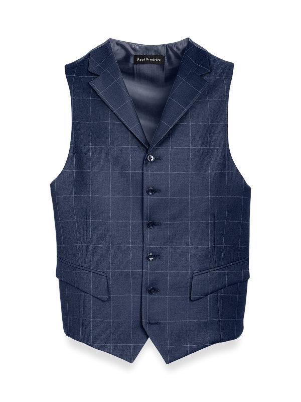 Tailored Fit Essential Wool Peak Lapel Suit