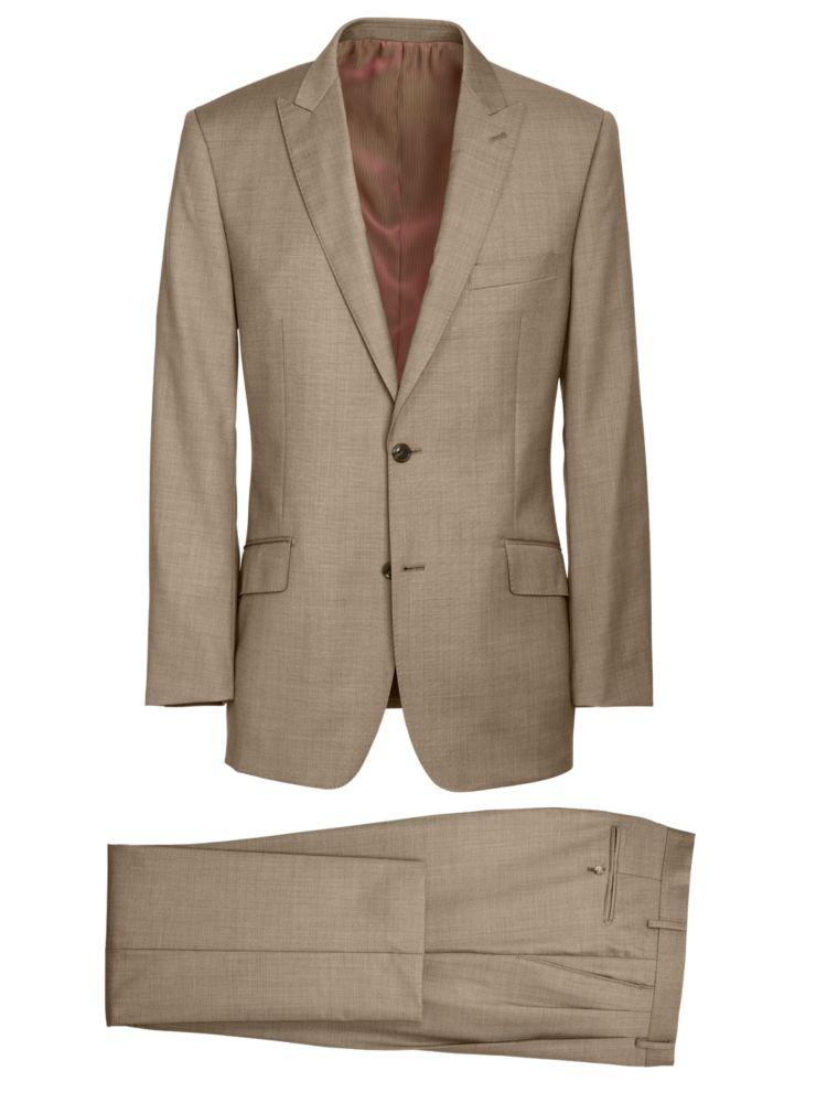 1930s Style Mens Suits Super 120s Sharkskin Peak Lapel Suit $259.90 AT vintagedancer.com