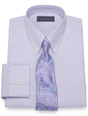 9b433b6dfa1 Pure Cotton Broadcloth Stripe Dress Shirt