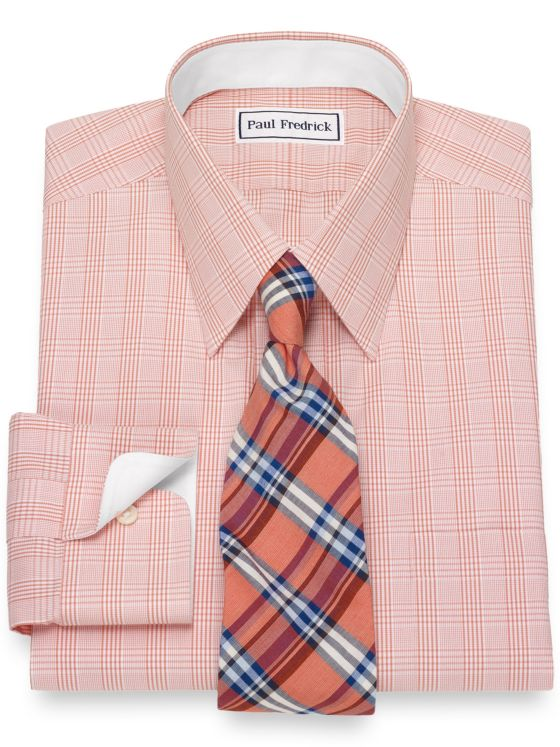 92d16c1a4208 Alert. Close. Continue Shopping. Non-Iron Cotton Glen Plaid Dress Shirt