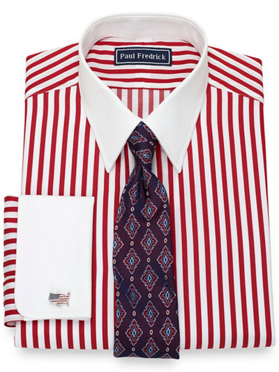 fa167ece Red French Cuff Clearance Dress Shirts | Paul Fredrick