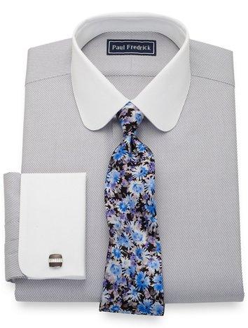 6e5ad5e9ca1c Grey French Cuff Dress Shirts | Paul Fredrick