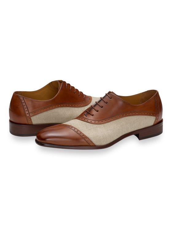 1930s Style Mens Shoes & Boots Floyd Oxford $249.50 AT vintagedancer.com