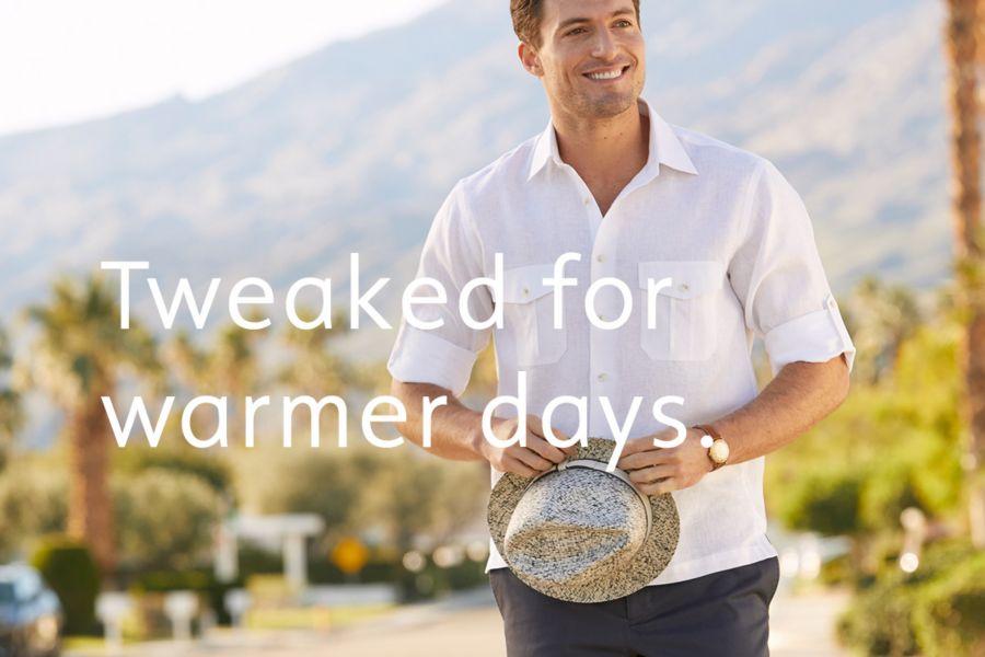 Tweaked for warmer days