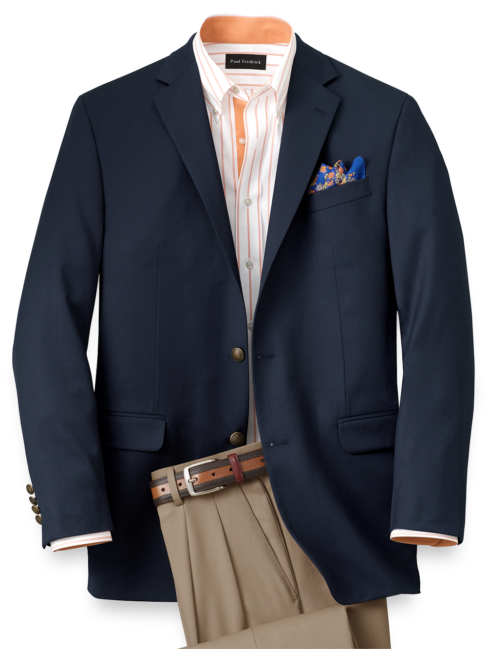4d0281409a0a Pure Wool Travel Blazer | Paul Fredrick