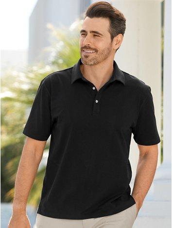 b66bb2c992ab Cotton   Silk Short Sleeve Polo Collar T-shirt