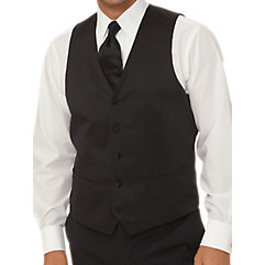 Satin Tuxedo Suit Vest