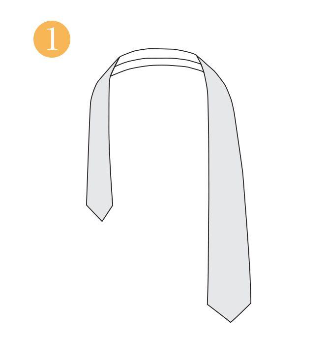 How To Tie A Tie Paul Fredrick